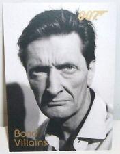 JAMES BOND 007 - DANGEROUS LIAISONS - BOND VILLAINS - INSERT #F21
