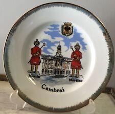 N13: Assiette De Collection Et De Décoration Voir Photos 25,5 Cm Cambrai