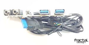 FRACTAL DESIGN NODE 804 USB CARD / I/O KIT. NEW