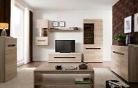 Living Dining Room Bedroom Sideboard Display Unit Cabinet Wood Effect San Remo