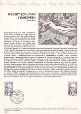 Document Philatélique Timbre 1er Jour : 10/05/ 1975 - Europa Robert Schuman