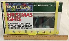 Omega Christmas LED Lights Multi Dimensional 24 Effects Las Vegas Style Show NIB