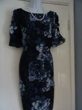 LADIES  MONSOON    STUNNING   SUMMER  SHIFT PENCIL   DRESS  SIZE  14