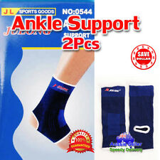 1 Pair Elastic Ankle Foot Support Brace Protection Strap Wrap Gym Sports
