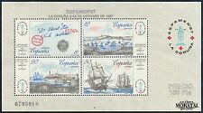 Spanish Stamps - 1987 Espamer 87 Stamp Exhibition La Coruna Sheet