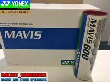 2 X TUBES YONEX MAVIS 600 BADMINTON SHUTTLES SHUTTLECOCKS RED/FAST WHITE SKIRT