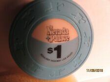 New listing Nevada Palace Hotel-Casino-Las Vegas, Nv.- $1 Casino Chip-Closed Casino- mint