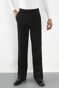 Men Ballroom Latin Salsa Modern Dance Pants Smooth Competition Practice Trousers