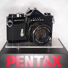 Pentax Spotmatic Black SERVICED by ERIC HENDRICKSON SMC Takumar 55mm f2 K041