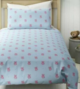 Marks & Spencer PERCY PIG Single Reversible Duvet Cover set Gift BNWT