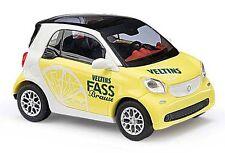 BUSCH 50712 Smart Fortwo 2014 Veltins, Limón H0 #nuevo emb. orig.#
