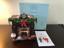 """P9972 PartyLite 7"""" Comfy Cozy Christmas Aroma Melts Candle Warmer Bnib Read"""