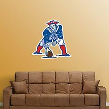 "New England Patriots FATHEAD Vintage Classic Logo NFL Vinyl Wall Graphic 21""x19"""