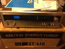 Vintage Toshiba AM/FM Stereo Tuner W/ Original Box And Manual