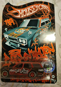 2021 Datsun 510 Wagon Rare Westside Expo Hot Wheels Convention Exclusive JDM NEW