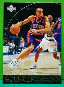 Grant Hill subset card 1996-97 Upper Deck #174