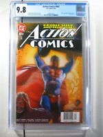 Action Comics #800 CGC 9.8 - Superman DC Comics 1st Print 2003 - New Slab!