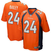 New 2020 NFL Nike Denver Broncos Champ Bailey Game Retired Player Edition Jersey
