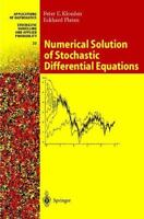 Numerical Solution of Stochastic Differential Equations, Hardcover by Kloeden...