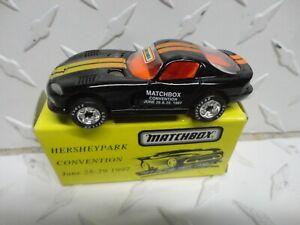 Matchbox Hershey Park Convention July 28-29 1997 Black Dodge Viper GTS w/Box