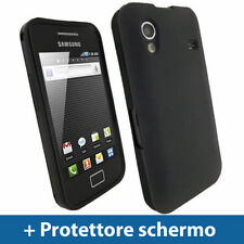 Cover e custodie semplice nero per Samsung Galaxy Ace