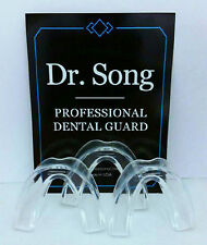 NEW Pkg Dr. Song ATHLETIC MOUTH GUARD 3 Pack for Sports and Teeth Grinding