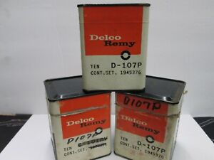 30  DELCO  REMY A 107P   POINTS 1 NEW WITH STRING   NOS UNOPENED BOX OF TEN