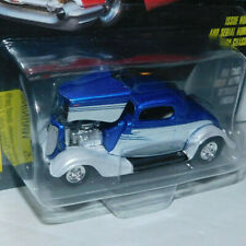 MOC 1997 RACING CHAMPIONS 1934 FORD COUPE BLUE / SILVER