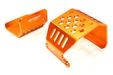 C26717ORANGE Integy Alloy Skid Plate Assembly for Axial 1/10 SCX-10 Rock Crawler
