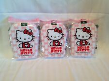 Earth Theraputics Hello Kitty Exfoliating Body Sponge Pink and White Lot Of 3