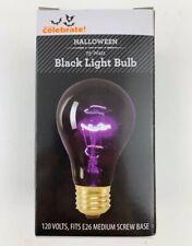 (2-pack) Black Light Bulb 75 Watt Party Bulb Halloween