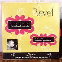 Ernest Ansermet Ravel LP London ffrr UK pressing VG+