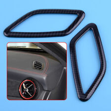 Carbon Fiber Air Vent Cover Trim For Mercedes Benz CLA GLA Class W117 X156 14-17