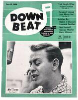 DownBeat June 13 1956 Mel Torme  & Great Ads