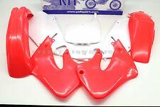 New Red and White Plastic Body Kit 98-99 CR125 R 97-99 CR250 R Honda #V58