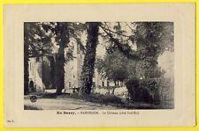 cpa Vue pas courante BERRY 18 - BANNEGON (Cher) Le CHÂTEAU côté Sud Est