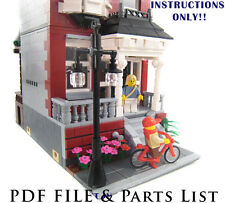 Lego Custom Modular Building House INSTRUCTIONS ONLY!!