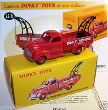 DINKY TOYS ATLAS STUDEBAKER CAMIONNETTE DEPANNAGE DEPANNEUSE REF 25R IN BOX