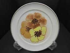 """Denby Potpourri Salad Plate Cream w Florals 8"""" D"""