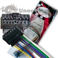 Dual Wire Harness XDVD8180 WIRE WIRING HARNESS JE03