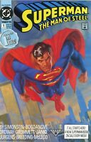 Superman The Man Of Steel #1 DC Comics 1991 Krypton Man Fresh Pressed