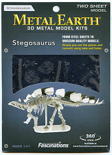 Metal Earth STEGOSAURUS SKELETON 3D Puzzle Micro Model