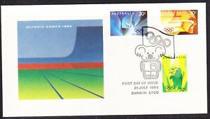 Australia 1984 Olympic Games First Day Cover Darwin APM15075