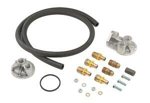 Engine Oil Filter Remote Mounting Kit-Base Mr Gasket 7682