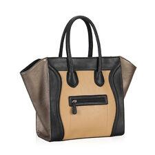 Exotic Smile Bag Women Large Shoulder Tote Designer Celebrity Smiley Handbag NWT