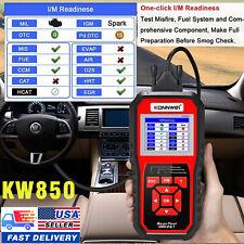 KW850 OBD2 OBDII EOBD Fault Diagnostic Code Car Auto Engine Reader Scanner Tool