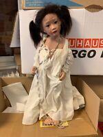 Philip Heath Vinyl Künstlerpuppe Puppe 62 cm. Top Zustand