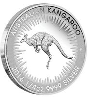 2016 Australian FIRST Kangaroo PROOF .9999 Silver 1/4 oz Coin Australia