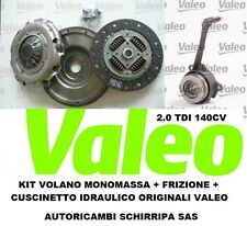 KIT VOLANO + FRIZIONE + CUSCINETTO VALEO GOLF 5  2.0 TDI 140CV BKD BMM