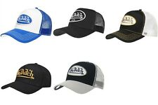 Von Dutch Baseball Trucker Cap Black White Gold Navy Colors Brand New With Tag